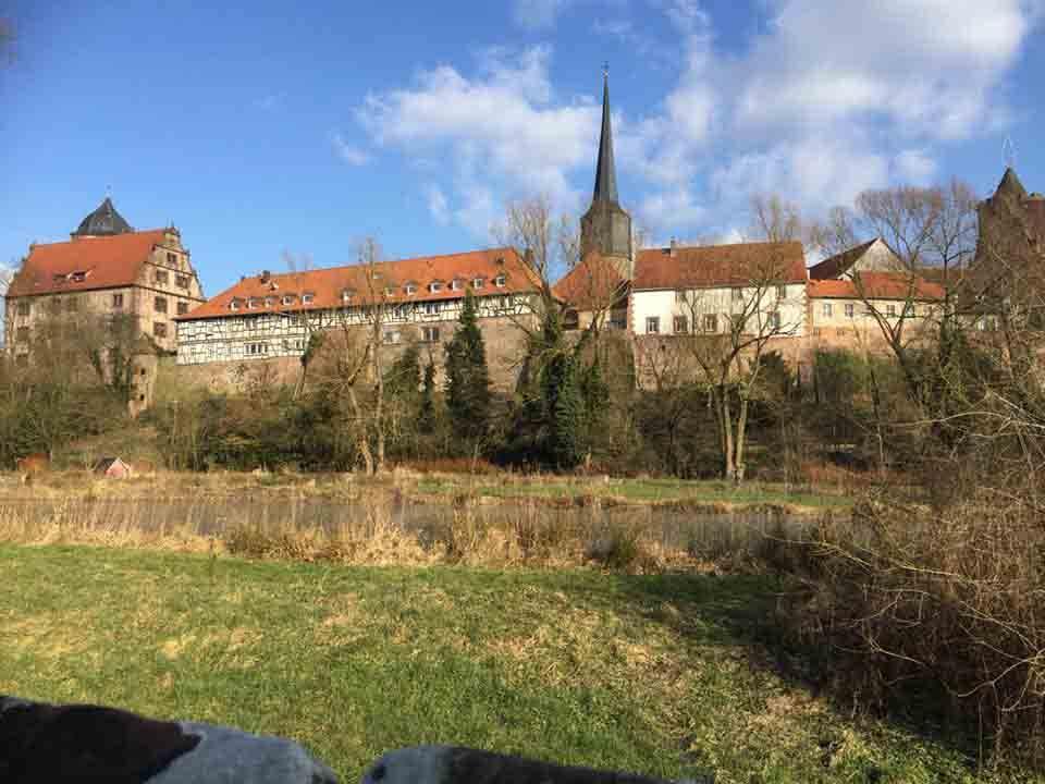 Ferienwohnung-Schlitz.de_Endlich Frühling in der Burgenstadt Schlitz