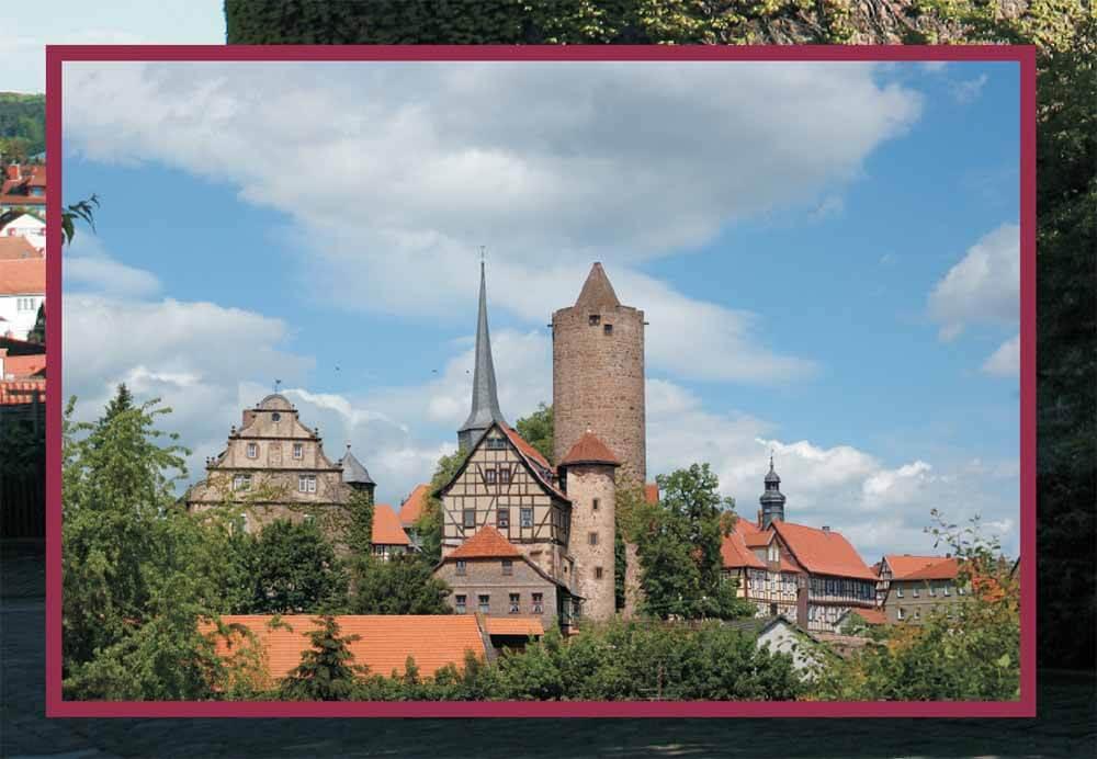 Burgenbesichtigungen und -Führungen gibt es ganzjährig. Die Ferienwohnung-Schlitz.de liegt umgeben vom Burgenring am Marktplatz in Schlitz.